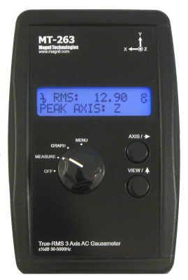 Magnii MT-263 3-Axis ELF meter